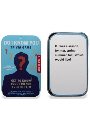 Joc Trivia - Do I Know You?
