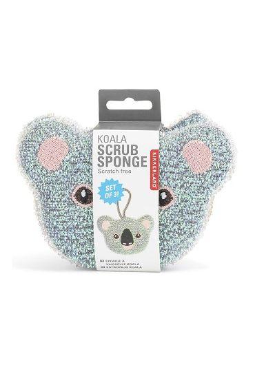 Set 3 bureti de vase - Koala Scrub Sponge