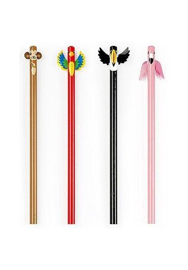 Set 4 creioane - Tropical Pencil