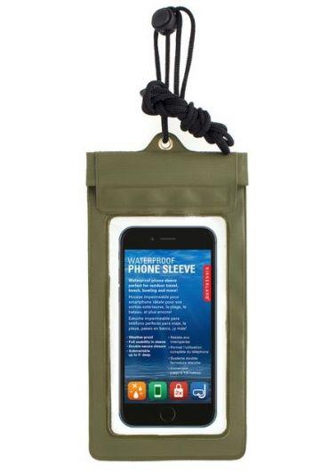 Husa rezistenta la apa pentru telefon - verde
