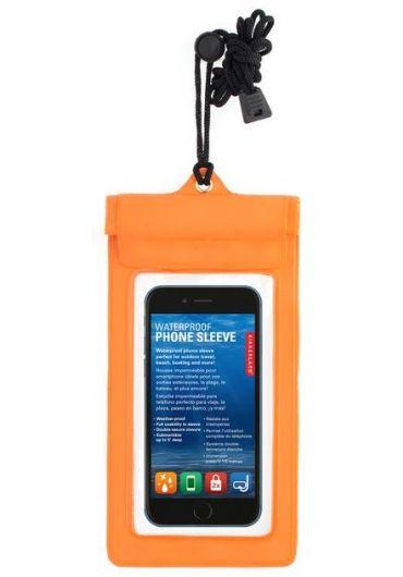 Husa rezistenta la apa pentru telefon - portocalie