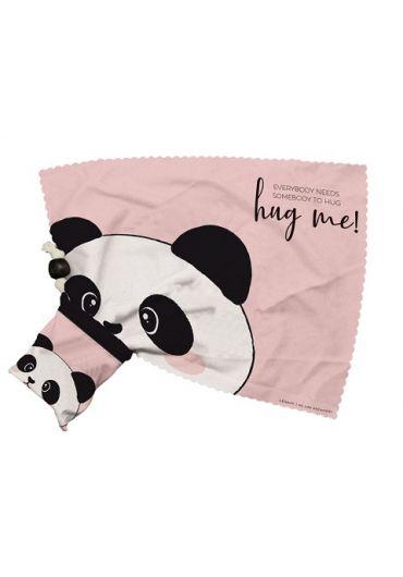 Carpite pentru ochelari - Look at me cleaning cloth - Panda