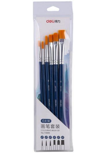 Set 6 pensule (nr. 4, 6, 8)