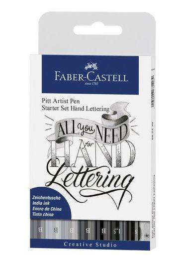 Pitt artist pen caligrafic 8/set