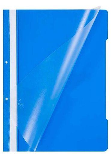 Dosar plastic cu sina si gauri Albastru