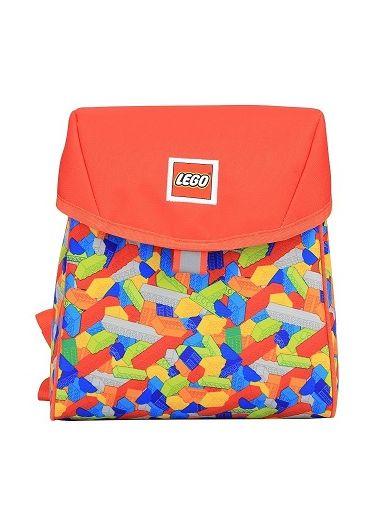 Rucsac gradinita Lego Tribini Line - Bricks Red