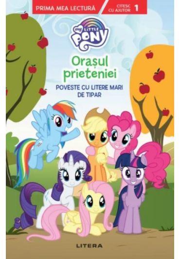 My Little Pony - Orasul prieteniei. Poveste cu litere mari de tipar