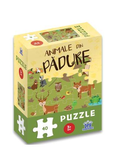 Animale din padure - Puzzle