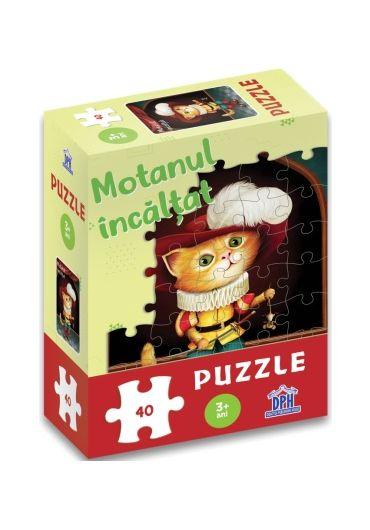 Motanul incaltat - Puzzle