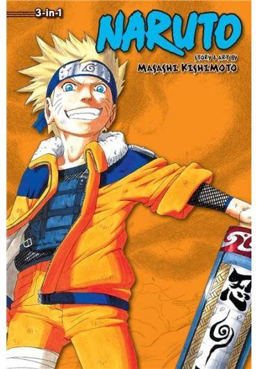 Naruto (3-in-1 Edition) - Vol. 4