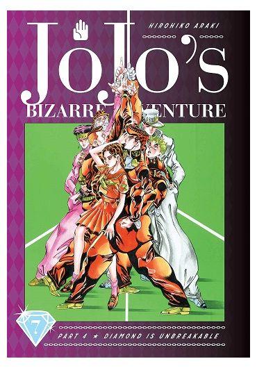 JoJo's Bizarre Adventure - Part 4 - Diamond is Unbreakable - Vol. 7