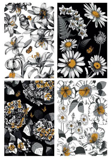 Caiet A4 60 file dictando Flowers