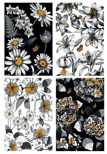 Caiet A4 60 file matematica Flowers