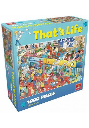 Puzzle 1000 piese Cauta si Gaseste - La birou
