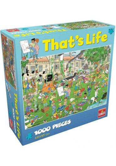 Puzzle 1000 piese Cauta si Gaseste - La scoala