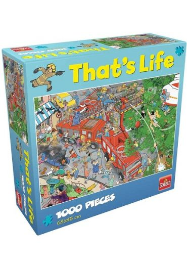 Puzzle 1000 piese Cauta si Gaseste - Brigada de pompieri