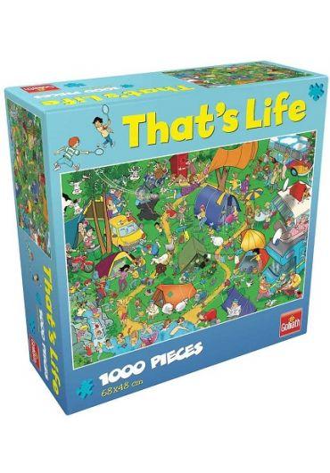 Puzzle 1000 piese Cauta si Gaseste - La iarba verde
