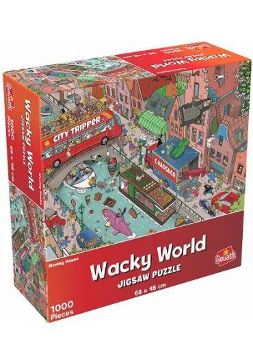 Puzzle 1000 piese Cauta si Gaseste - Mare haos in oras