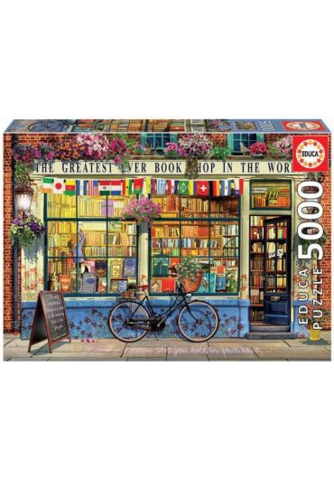Puzzle 5000 piese Greatest Bookshop in the world