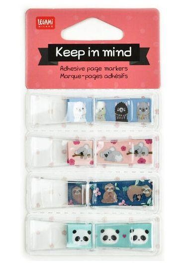 Marcaje pagini adezive - Keep in Mind - Animals