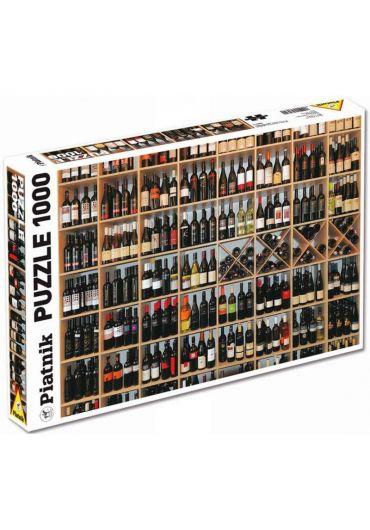 Puzzle 1000 piese Sticle cu vin
