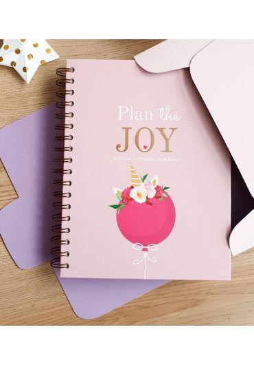 Agenda de sarcina - Plan the Joy