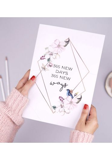 Planner anual 365 Days - Marble Dreams