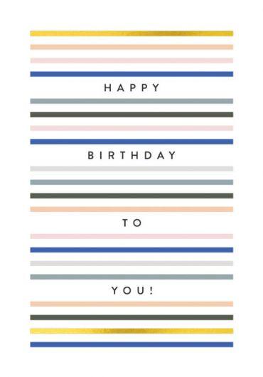 Felicitare - Happy Birthday To You!