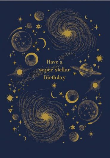 Felicitare - Super Stellar Birthday