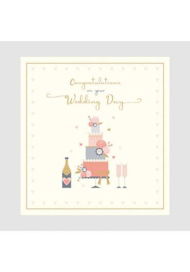 Felicitare - Wedding cake