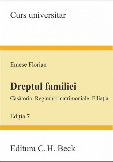 Dreptul familiei. Editia a 7-a