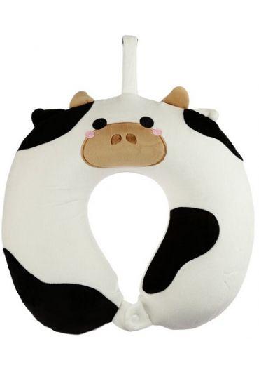 Perna de voiaj - Relaxeazzz Cow Plush Memory Foam