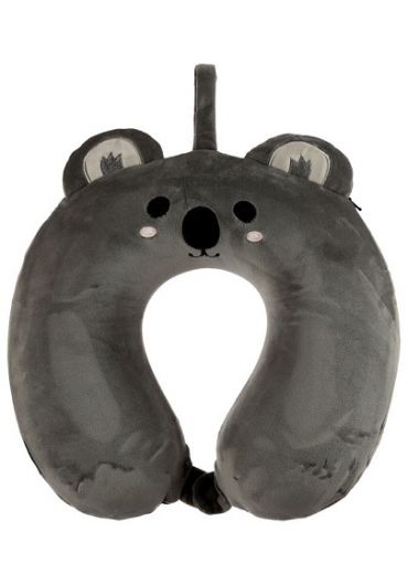 Perna de voiaj - Relaxeazzz Koala Plush Memory Foam