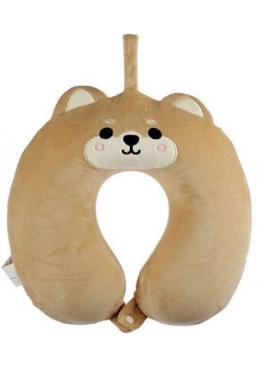 Perna de voiaj - Relaxeazzz Shiba Inu Dog Plush Memory Foam