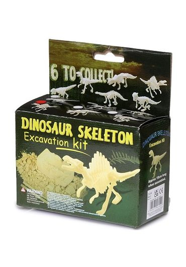 Jucarie - Dinosaur skeleton dig it out kit small
