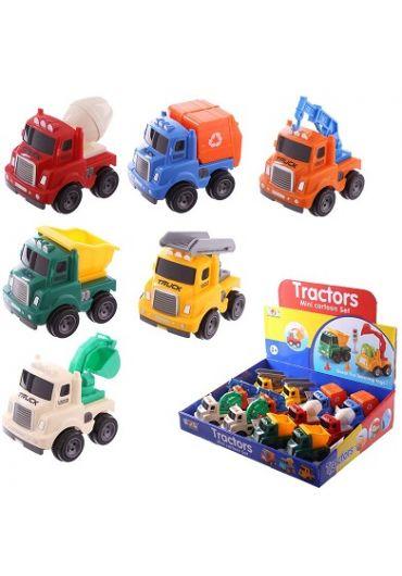 Jucarie - Mini Vehicles Push Along Toy