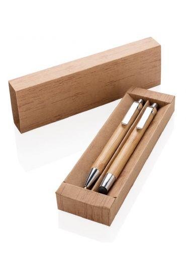 Set creion mecanic si pix din bambus
