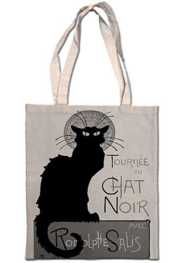 Plasa bumbac - Tournee Du Chat Noir