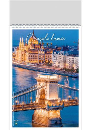 Calendar de perete Orasele Lumii 2022