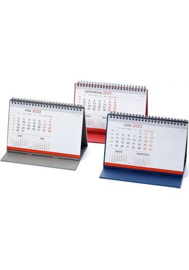 Calendar de birou Caro 2022 - Rosu