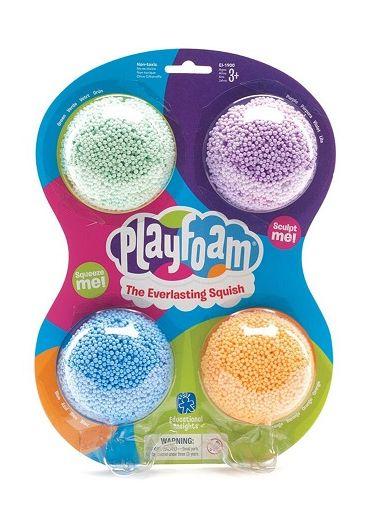 Spuma de modelat Playfoam(TM) - Set 4 culori