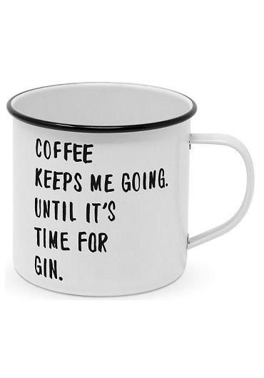 Cana metalica - Coffee & Gin