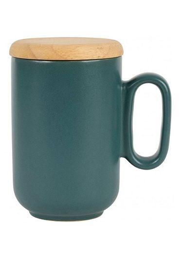 Cana ceramica cu infuzor si capac - Baltika Emerald Matt