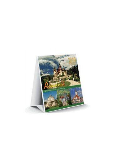 Calendar turistic 2022, format 15x15 cm