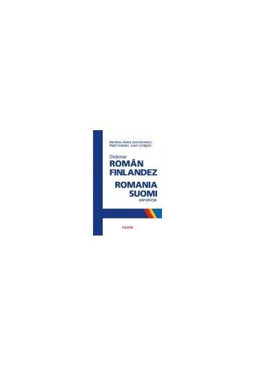 DICTIONAR ROMAN-FINLANDEZ/ROMANIA-SUOMI SANAKIRJA (CARTONAT)