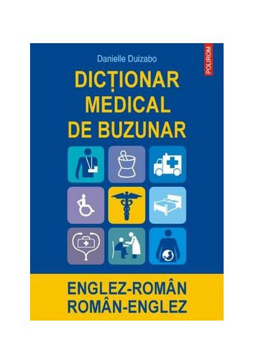 Dictionar medical de buzunar englez-roman / roman-englez