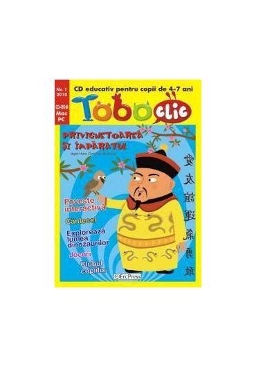 Tobo clic nr. 1 - CD educativ pentru copii de 4-7 ani