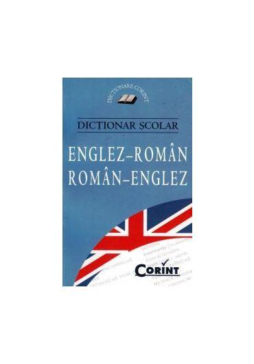 Dictionar scolar dublu englez