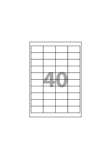 Etichete 40/A4 52,5x29,7MM