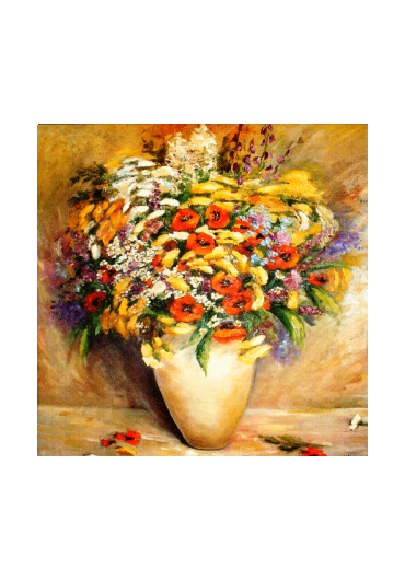 Felicitari 15x15 cm Plic Colorat